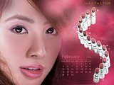Jolin''s Maxfactor lip stick advertisement wallpapers15 pics