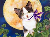 Artbook Scans: Kittens Art Pinting by Jane Maday14 pics